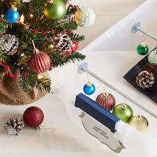 Saran Wrap Christmas Tree With Ornaments by Christmas Storage Hacks And Organizing Solutions
