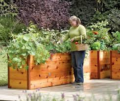 impressive cedar planks for raised garden beds and greenes fence