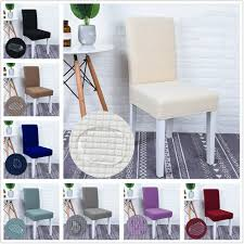 Details About Waterproof Spandex Stretch Slipcover Wedding Dining Room  Party Decor Chair Cover Christmas Decoration Chair Covers Ding Seat Sleapcovers Tree Home Party Decor Couch Slip Wedding Table Linens From Waxiaofeng806 542 Details About Stretch Spandex Slipcover Room Banquet Dcor Cover Universal Space Makeover 2 Pc In 2019 Garden Slipcovers Whosale Black White For Hotel Linen Sofa Seater Protector Washable Tulle Ideas Chair Ab Crew Fabric For Restaurant Usehigh Backpurple