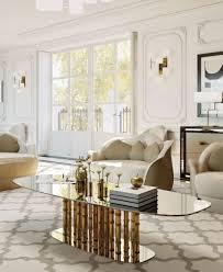 casa padrino luxus designer couchtisch bambus gold 180 x 80 x h 57 cm wohnzimmertisch mit ovaler glasplatte wohnzimmer möbel hotel möbel