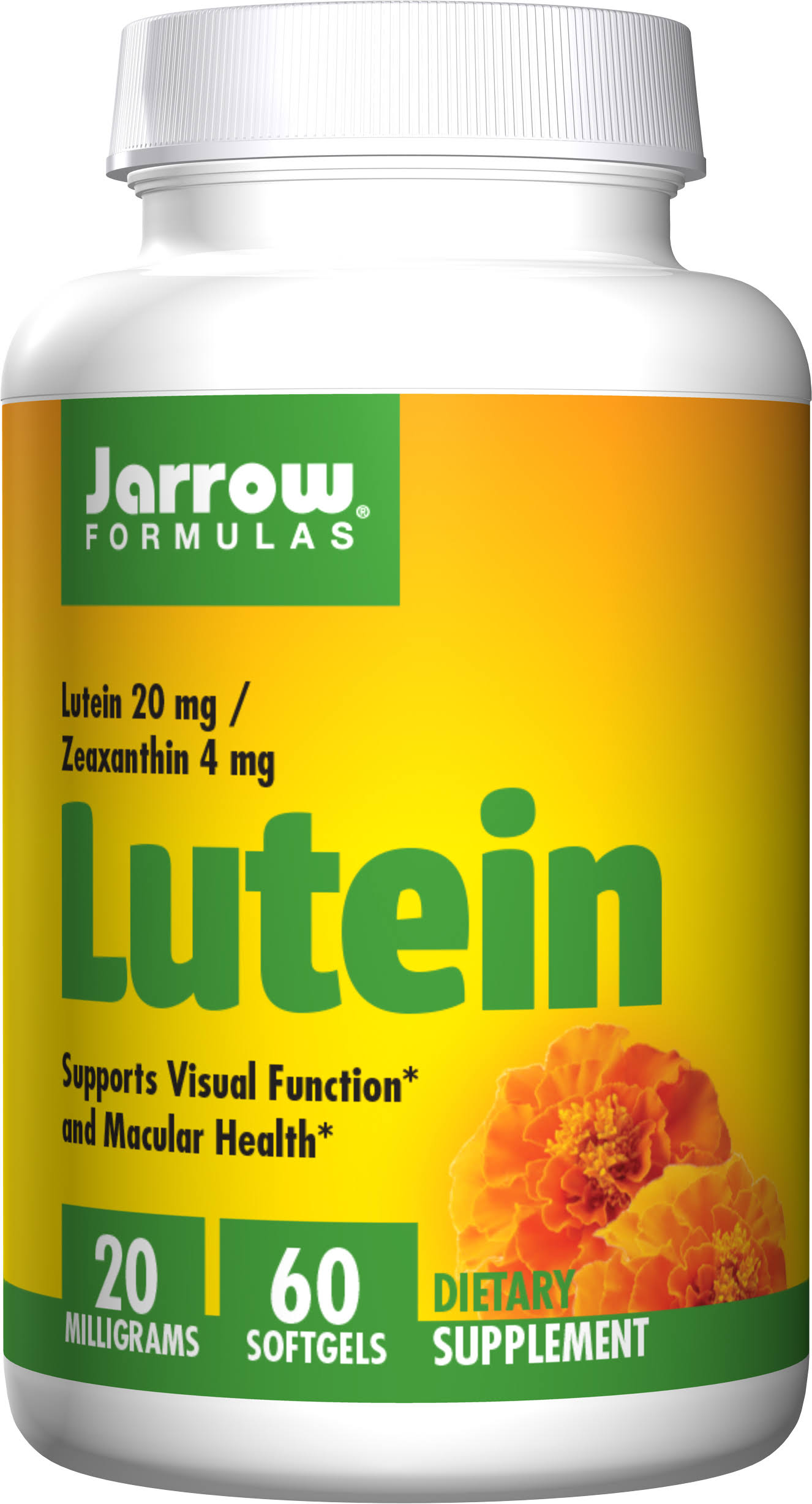 Jarrow Formulas Lutein Supplement - 60 Softgels