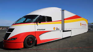 Shell Starship Semi Truck Aims To Push Fuel-Efficiency Envelope ...