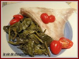 cuisiner la raie au beurre noir aile de raie au court bouillon quand choupette et papoune cuisinent