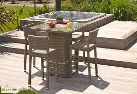 table et 4 chaises ensemble bar de jardin panama 1 table 4 chaises garden