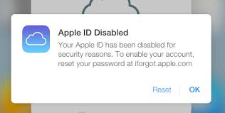 Disabled Apple ID Here is what to do about it