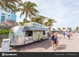 100 Hollywood Food Trucks Truck In Beach Florida Stock Editorial Photo