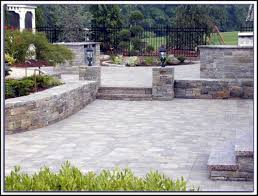 Stone Paver Patio Installation Patios Home Decorating Ideas