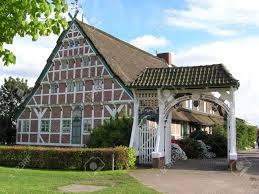 100 German House Design Typical Old Country Stock Photo Picture And Royalty