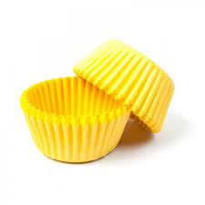 Yellow STANDARD Cupcake Cases BULK 500
