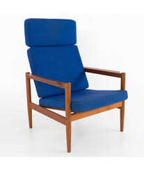 Borge Jensen High Back Danish Mid Century Modern Lounge Chair Charlize Modern Lounge Chair In Midnight Blue By Nuevo Eurway Brayden Studio Joleen Round Velvet Swivel Wayfair Midcentury Dutch Chairs Martin Visser For T Gerhard Berg Peter Wessel Ltd Stainless Steel Frame Swing With Footrest Buy Field Leather Blu Dot Borge Jsen High Back Danish Mid Century Kent Modloft Better Homes Gardens Alani And Ottoman Plycraft Chairish Stanford Charcoal