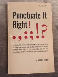 Punctuate It Right: Harry Shaw: 9780389002826: Amazon.com: Books Bombay Journal From Barnes Noble Paper Pen Paraphernalia Books Blank Diaries Journals Find Products The Best Kjv Bible With Gustave Dore Illustrations Review Happier Amrita Sen Adorable Elephant Planner For 2014 That I And Sketchbook Nwt Star Wars Bloodline Special Edition Tipped My New Journalingart Journalingplanner Bag Accsories No Its Not Only Coldadj But Also Itss V Really Humid Outside Amazoncom Punctuate Puffy Doll 6 X 8 Lined Pink Bnschaumburg Twitter