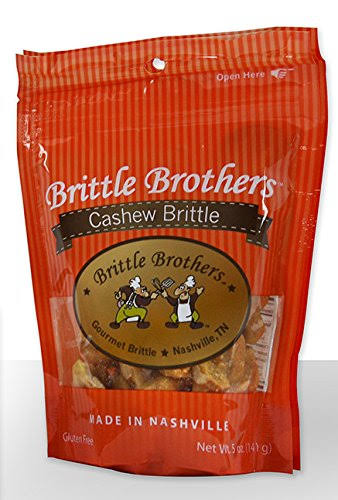 Brittle Brothers Cashew Brittle 5 Ounce