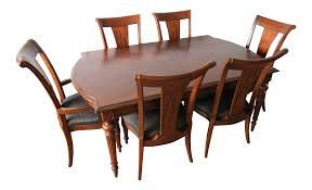 Traditional Pennsylvania House Cherry Dining Table & Chairs | Chairish 90 Off Bernhardt Embassy Row Cherry Carved Wood Ding Darby Home Co Beesley 9 Piece Buttmilkcherry Set 12 Seater Cherrywood Table And Chairs Christophe Living Fniture Of America Brennan 5piece Round Brown Natural Design Ideas Solid Room House Craft Expandable Art Deco With Twelve 5 Wayfair Wood Ding Set In Ol10 Rochdale For 19900 Sale Shpock Regular Height 30 Inch High Table Black Kitchen Sets For 6 Aspenhome Cambridge 7pc Counter Leg