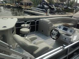 Pontoon Boat Teak Vinyl Flooring by South Bay 925e Entertainer Pontoon 2014 For Sale For 63 999