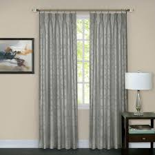 Curtains With Grommets Pattern by Achim Sheer Tranquil Silver Lined Grommet Window Curtain Panel