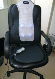 Best Massage Pads For Chairs by Office Chair Massager How To Choose The Best Massage Back