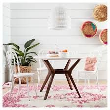 white with color pops dining room target