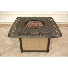 Agio Patio Furniture Cushions by Fire Pits Design Marvelous Inside Fire Pit Coffee Table