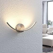 lindby led wandleuchte wandle innen iven modern in alu aus metall ua für wohnzimmer esszimmer 1 flammig a inkl leuchtmittel