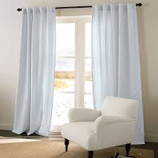 Brylane Home Curtain Panels by Cotton Linen 2 In 1 Window Panel Curtains U0026 Drapes Brylanehome