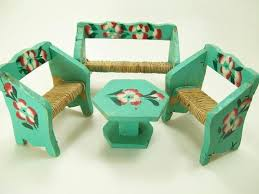 Vintage Mexican Doll Furniture