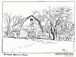 Printable Farm Coloring Pages For Adults