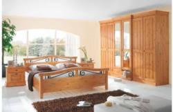 landscape komplett schlafzimmer 4 tlg in honig honig