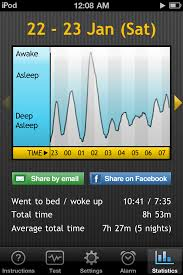 Sleep Cycle Review of iPhone Alarm App