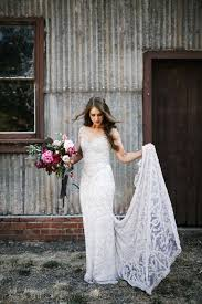 Amazing Wedding Dress Designer ANNA CAMPBELLS Rustic Glam Part 2