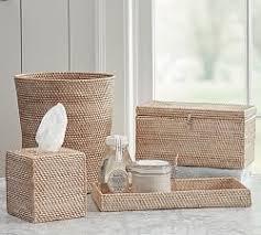 Burgundy Star Bathroom Accessories by All Bath Accessories Pottery Barn
