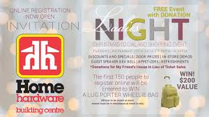 Ladies Night At Collingwood Home Hardware Building Centre ... Home Hdware Design Centre Myfavoriteadachecom Beautiful Gallery Interior Building Qc Flyer November 15 To 22 100 Lighting Shop Bath At Lindsay Ontario Bc May 10 17 Hdware Design Centre Richmond House Plans Sussex Villas Wellspring Awesome Decorating Flyers Sussex Home Corner Newstoday