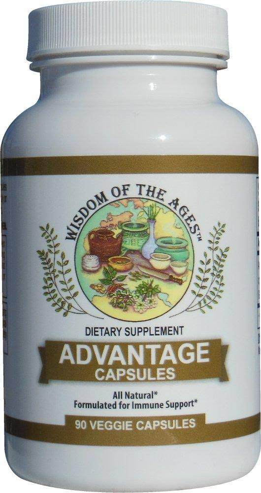 Advantage Capsules Natural Immune Support with The Power of Grapefruit Seed