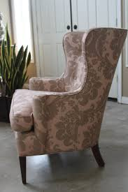 Oversized Wingback Chair Slipcovers by Accessories Wingback Chair Cover Throughout Great Wing Chair