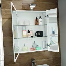allibert spiegelschrank 60 cm weiß eek a