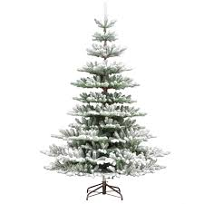 10ft Christmas Tree Artificial by 7 5ft Snowy Imperial Feel Real Spruce Artificial Christmas Tree