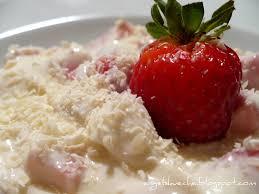 essen aus engelchens küche weiße schokolade erdbeer quark