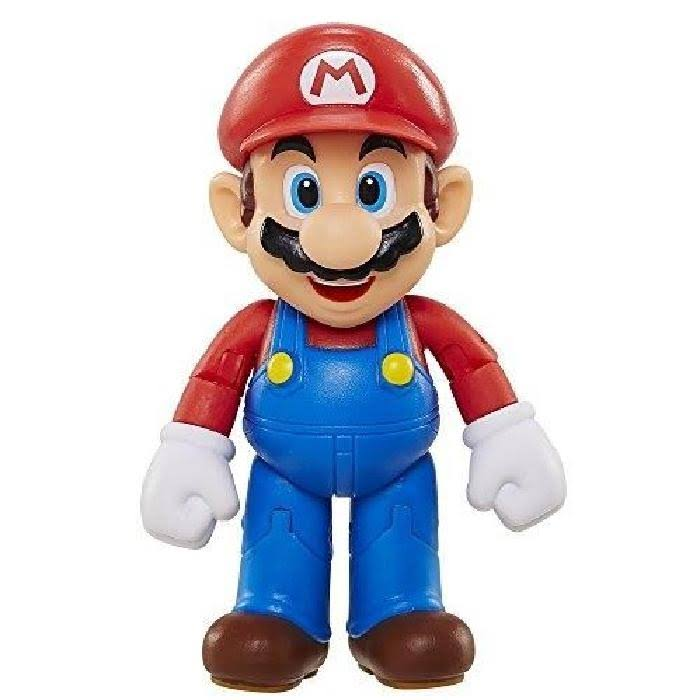 World of Nintendo Super Mario Figure - 4""