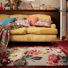Living Room Autumn Bloom Rug CathKidston I Love That