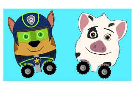New Kids Surprise Eggs Spy Chase Paw Patrol Disney Pua Toy Egg Race Cartoon Episode Animation