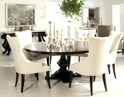 Round Dining Room Table And Chairs White Sets