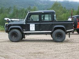100 Defender Truck Land Rover Electric 110 Electric Testing In Cornwall