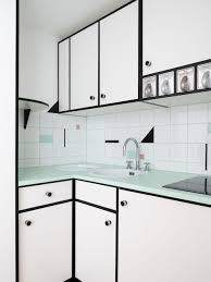 bauhaus design inspired penthouse studio apartment