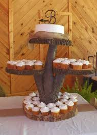 Homemade Cake Stand Absolutely Love The Rustic Quality Amanda Snelson Schneider