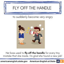 Expression Fly Off The Handle
