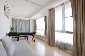 Sleek Modern Living Room White Minimal Apartment Smart Hidden Lamp Hanging Wall Picture