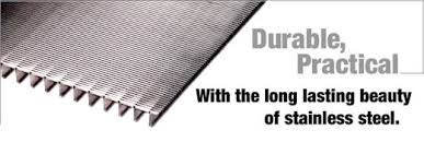 stainless steel grates and grilles