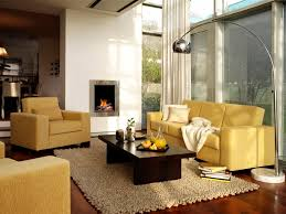 Almost Invisible This Electric Fireplace Look Like A Picture In The Wall It Goes Amazingly With Lemon Sofa And Armchairs Of Sunny Living Room