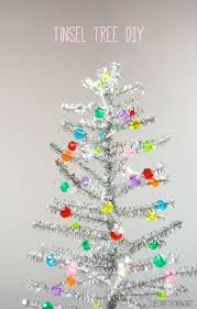 Christmas Tree Sapling Care by Best 25 Tinsel Tree Ideas On Pinterest Tinsel Christmas Tree