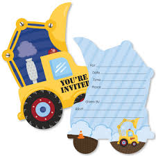 Construction Truck - Shaped Fill-In Baby Shower Or Birthday Party ... 9 Of The Best Kids Birthday Party Ideas Gourmet Invitations Dump Truck Invitation Template Wwwtopsimagescom Big Rig Small Napkins Amazoncouk Kitchen Home Funny Cstruction Baby Shower Or Photo Booth Props Trucks 1 49 Themed With Free Printables A How To Ay Mama Lincolns Third Veronikas Blushing Modern Prop Jeremy S 2nd Tkcstruction Boys Inspiration Venus Tonka Su92 Advancedmasgebysara