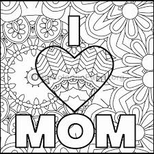 Mothers Day Coloring Pages 7